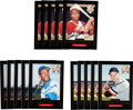 Autographs:Sports Cards, 1999 Frank Robinson, Ernie Banks & Frank Robinson Hillshire Farms Signed Home Run Heroes Cards - Lot of 75. ...