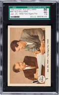 """Baseball Cards:Singles (1950-1959), 1959 Fleer Ted Williams """"Ted Signs For 1959"""" #68 SGC 86 NM+ 7.5...."""