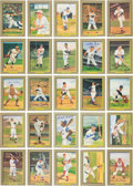 Baseball Collectibles:Others, 1984-97 Perez Steele Hall of Fame Great Moments Set of 9 SeriesWith 24 Signed Including Mantle, Williams. ...