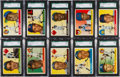 Baseball Cards:Sets, 1955 Topps Baseball Near Set (202/206). ...