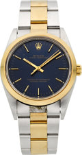 Timepieces:Wristwatch, Rolex Ref. 14203 Gent's Two Tone Oyster Perpetual, circa 1993. ...