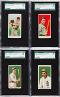 Baseball Cards:Lots, 1909-11 E90-1 American Caramel SGC Collection (14). ...