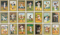 Autographs:Post Cards, 1980's-90's Hall of Famers Signed Perez-Steele Greatest Moments Cards Lot of 41....