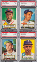Baseball Cards:Lots, 1952 Topps Baseball Collection (25) With Pafko. ...