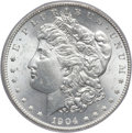 Morgan Dollars, 1904-S $1 MS64 PCGS....