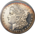 Proof Morgan Dollars, 1879 $1 PR65 Cameo PCGS. CAC....