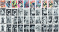Non-Sport Cards:Sets, 1966 Topps Batman and Superman High Grade Collection (675). ...