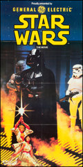 "Movie Posters:Science Fiction, Star Wars (General Electric, 1982). Australian Television PromoPoster (18"" X 36""). Science Fiction.. ..."