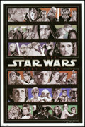 "Movie Posters:Science Fiction, Star Wars (Trends, 2007-2009). Autographed Tribute Posters (3)(22.5' X 34"" and 24' X 36""). Science Fiction.. ... (Total: 3 Item)"