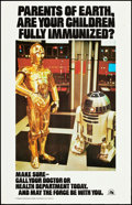 "Movie Posters:Science Fiction, Star Wars (20th Century Fox, 1979). Immunization Poster (14"" X22""). Science Fiction.. ..."
