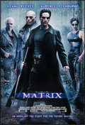"Movie Posters:Science Fiction, The Matrix (Warner Brothers, 1999). One Sheet (27"" X 41"") AdvanceDS. Science Fiction.. ..."