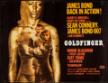 "Movie Posters:James Bond, Goldfinger (United Artists, 1964). British Quad (30"" X 40""). James Bond.. ..."