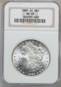 Morgan Dollars, 1885-CC $1 MS65 NGC....