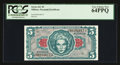 Military Payment Certificates:Series 641, Series 641 $5 PCGS Very Choice New 64PPQ. . ...