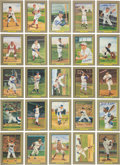 "Baseball Collectibles:Others, Late 1980's Baseball Legends Signed ""Great Moments"" Perez SteeleCards Lot of 25 - With 83 Unsigned Examples...."