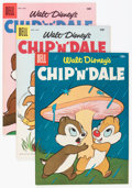 Golden Age (1938-1955):Cartoon Character, Chip 'n' Dale Group (Dell, 1954-62) Condition: Average VF.... (Total: 11 Comic Books)