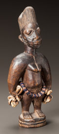 Tribal Art, A SINGLE IBEJI FIGURE...