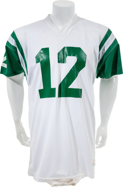 online store 88d81 d473a Circa 1972-76 Joe Namath Game Worn New York Jets Jersey and ...