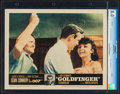 "Movie Posters:James Bond, Goldfinger (United Artists, 1964). CGC Lobby Card (11"" X 14"").James Bond.. ..."