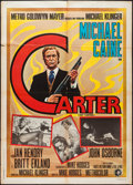 "Movie Posters:Crime, Get Carter (MGM, 1971). Italian 2 - Foglio (39"" X 55""). Crime.. ..."