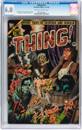 Golden Age (1938-1955):Horror, The Thing! #11 (Charlton, 1953) CGC FN 6.0 Off-white to whitepages....