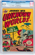 Golden Age (1938-1955):Horror, Journey Into Unknown Worlds #38 (#3) (Atlas, 1951) CGC VF+ 8.5Off-white to white pages....