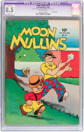 Golden Age (1938-1955):Humor, Four Color #31 Moon Mullins (Dell, 1943) CGC Apparent VF+ 8.5 Slight (A) Off-white pages....