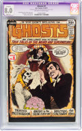 Bronze Age (1970-1979):Horror, Ghosts #1 (DC, 1971) CGC Apparent VF 8.0 Slight (A) Off-white towhite pages....