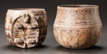 Ceramics & Porcelain:PreColumbian Ceramics, TWO MAYA PAINTED VESSELS. c. 600 - 900 AD... (Total: 2 Items)