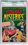 Golden Age (1938-1955):Horror, Strange Mysteries #1 (Superior, 1951) CGC Qualified FN+ 6.5 Creamto off-white pages....