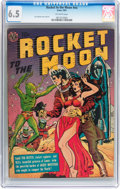 Golden Age (1938-1955):Science Fiction, Rocket to the Moon #nn (Avon, 1951) CGC FN+ 6.5 Off-white pages....