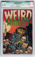 Golden Age (1938-1955):Horror, Weird Mysteries #7 (Gillmor, 1953) CGC Qualified FN 6.0 Off-whitepages....