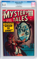 Golden Age (1938-1955):Horror, Mystery Tales #37 (Atlas, 1956) CGC VF+ 8.5 Off-white to whitepages....