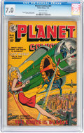 Golden Age (1938-1955):Science Fiction, Planet Comics #61 (Fiction House, 1949) CGC FN/VF 7.0 Off-whitepages....