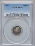 Bust Half Dimes: , 1832 H10C XF40 PCGS. PCGS Population (27/739). NGC Census:(10/797). Mintage: 965,000. Numismedia Wsl. Price for problem fr...