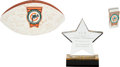 Football Collectibles:Balls, 1972 Miami Dolphins Perfect Season Team Signed 30th Anniversary (2002) Football and More....