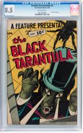 Golden Age (1938-1955):Horror, Feature Presentation #5 The Black Tarantula (Fox, 1950) CGC VF+ 8.5Off-white pages....