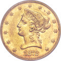 Liberty Eagles, 1872 $10 AU50 PCGS Secure....