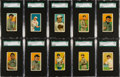Baseball Cards:Sets, 1914-16 T213 Coupon Cigarettes Type 2 Collection (85). ...