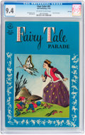 Golden Age (1938-1955):Funny Animal, Four Color #87 Fairy Tale Parade - File Copy (Dell, 1945) CGC NM9.4 Off-white to white pages....
