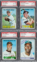 Baseball Cards:Lots, 1960 - 1967 Topps PSA Graded Star Collection (10). ...