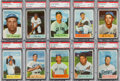 Baseball Cards:Sets, 1954 Bowman Baseball High Grade Partial Set (146/224). ...