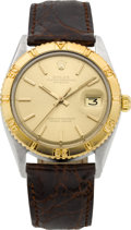 Timepieces:Wristwatch, Rolex Ref. 1625 Steel & Gold Datejust With Thunderbird Bezel, circa 1978. ...