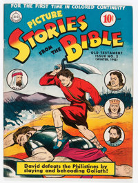 Picture Stories from the Bible Old Testament #2 (DC, 1942) Condition: VF-