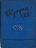 Olympic Collectibles:Autographs, 1932 Olympic Photo Album Book. ...