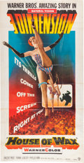 Memorabilia:Poster, House of Wax Three Sheet Poster (Warner Brothers, 1953)....