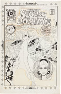 Original Comic Art:Covers, Demetrio Sánchez Gómez Secret Romance #30 Cover Original Art(Charlton, 1975). ...