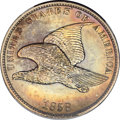Patterns, 1858 P1C Flying Eagle Cent, Judd-193, Pollock-236, Snow-PT11a, R.5,PR62 NGC....