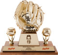 "Baseball Collectibles:Others, 1958-70 Luis Aparicio ""Career"" Gold Glove Award...."