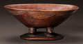 Tribal Art, AN EAST AFRICAN WOODEN BOWL...